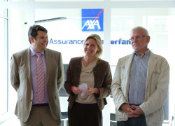 photo inauguration Agence Bofferdange