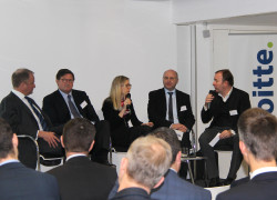 Picture1 Panelists Deloitte Conference 24 Feb 2015