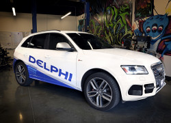 Delphi's automated driving demo veh