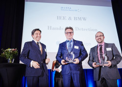IEE-receives-CLEPA-Innovation Award