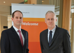 Michael Weiss PwC Luxembourg and Daniel Thelesklaf MONEYVAL