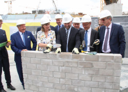 Picture Ministers foundation stone 22 June