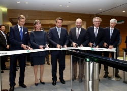 Inauguration bâtiments BNP Paribas
