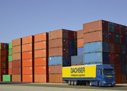 Dacher truck - containers