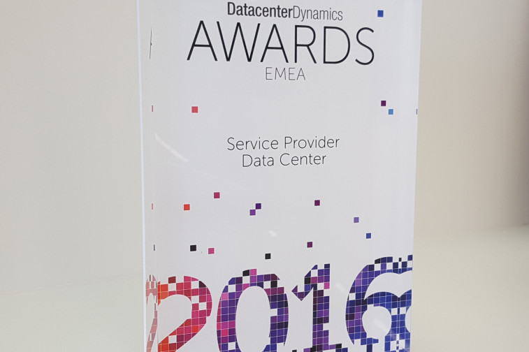 2016-12-07 LUXCONNECT-DCDynamics-Service-provider-data-center-award