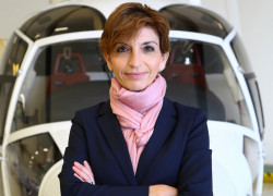 Charlotte Pedersen CEO Luxaviation Helicopters