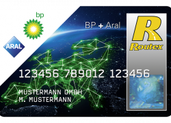 BP plus Aral 2017 card