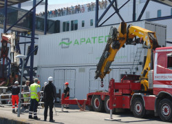 APATEQ MarinePaq installation for Scandlines