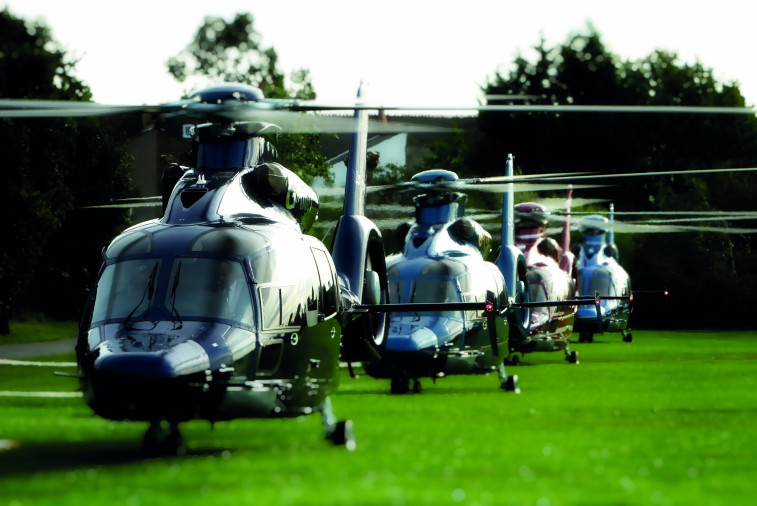 Luxaviation Helicopters Starspeed fleet EC155s