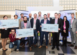 IoT Challenge winners and jury