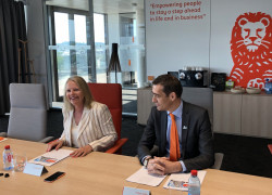 Press conference Results 2017 ING LU- Colette Dierick CEO - Philippe Gobin CFO
