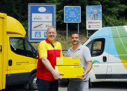 Kooperation DHL Parcel POST Luxembourg
