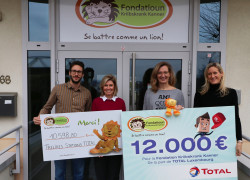 total-remise-cheque ©TOTAL Luxembourg