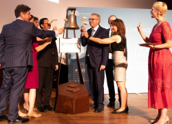 LuxSE World Bank bell ceremony
