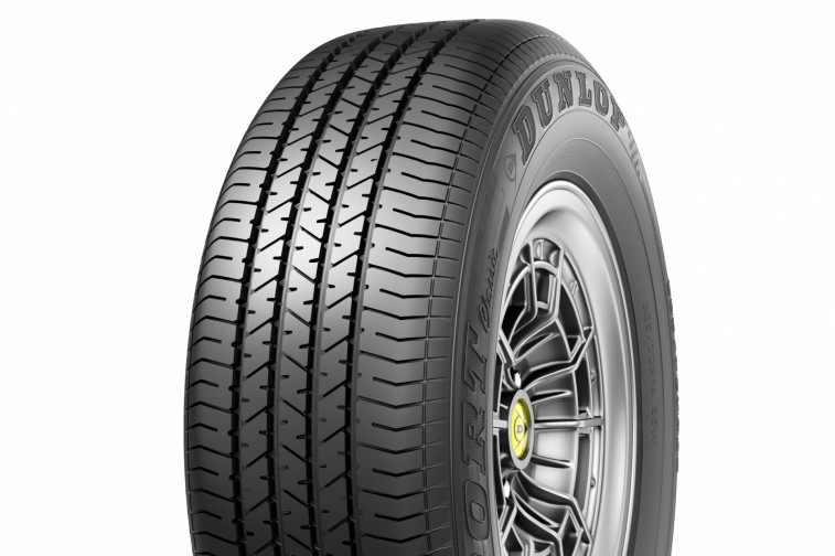 Dunlop Sport Classic tops Auto Bild Klassik's vintage tire test for