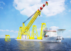 Jan De Nul Group - Offshore Installation Crane Vessel Les Alizés (002)