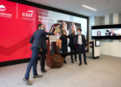 Ring the Bell for Financial Literacy LuxSE CSSF
