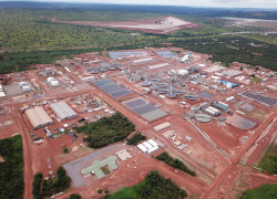 ERG's Metalkol RTR cobalt and copper facility in the DRC