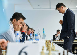 ERG led to quarterfinals representing Kazakhstan and Luxembourg in the first FIDE World Corporate Chess Championship